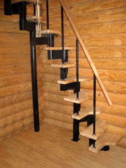 Лестница в гараж на второй этаж своими руками из дерева